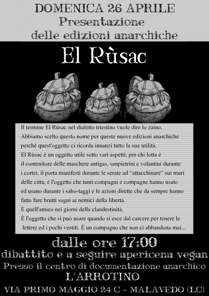 domenica 26 aprile a Lecco