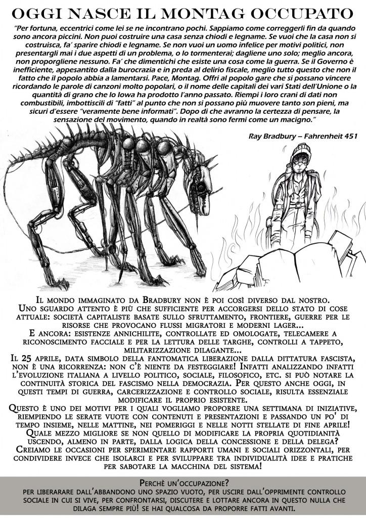 okkupazione prima pagina